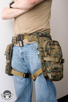 Jax Pax Packs: Bug Out Belt