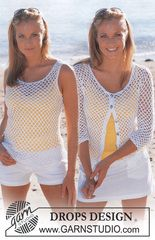 Ravelry: 82-6 b Crocheted Top pattern by DROPS design