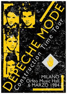 DEPECHE MODE  Milan Italy  6 March 1984 door tarlotoys,