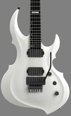 GuitarQueue - 2014 ESP E-II FRX Snow White Electric Guitar, $1,899.00 (http://guitarqueue.com/2014-esp-e-ii-frx-snow-white-electric-guitar/)