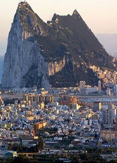 Gibraltar - You can see Africa can from this southern tip of Spain