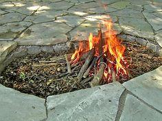 Inground Fire Pit Ideas