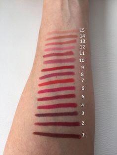 Crayon Matte Lipstick van Golden Rose