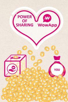 Регистрируйтесь на WowApp, зарабатывайте и помогайте другим!