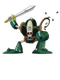 Robot Pirata - Serie:Dragon Ball (1986-1989) FUNimation (EEUU) / Selecta Vision (España)