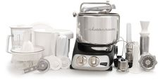 I didn't think anything could beat my Kitchen Aid, but this comes close. Ankarsrum Electrolux Mixer/Remodelista