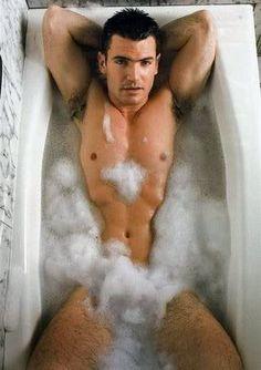 Rub-a-dub-dub Aiden Turner In A Tub | Daytime Confidential