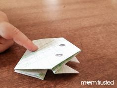 Make your own jumping frog. One of you should make this for Fathers Day.