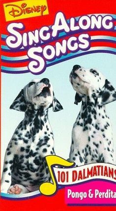 Disney Sing Along Songs: 101 Dalmatians / Pongo & Perdita [VHS] Disney Songs, Disney Movies, 90s Childhood, Childhood Memories, 101 Dalmatians The Series, Pongo And Perdita, Sing Along Songs, Vhs Movie, Old Disney