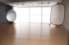 Natural light studio - with one wall white and the other gray = perfect!!