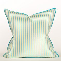 South Beach Collection Blueberry Mojito Pillow