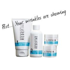 Makeup can't hide wrinkle, but Rodan + Fields can help you get rid of them! Rodan + Fields' Redefine Regimen will help to reduce pores and minimize fine lines and wrinkles! Get started now to see your results!