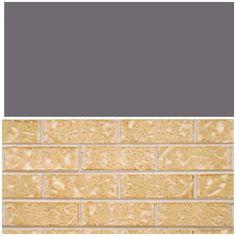 Basalt roof, Bianca brick? Facade, Tile Floor, Brick, Flooring, Texture, Crafts, Surface Finish, Manualidades, Facades