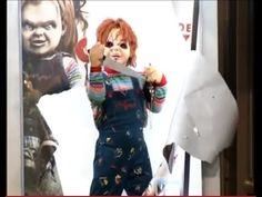 Scary prank IN THE BRAZIL Chucky Child's Play - The killer doll Chucky - YouTube