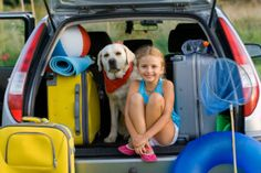 Spring has sprung, so it's time pack up the dog and get ready for a spring break getaway trip to somewhere warm and wonderful.