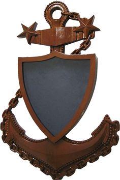 USCG Master CPO Shadow box
