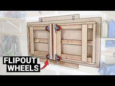 Garage Workbench Plans, Workbench Stool, Folding Workbench, Woodworking Ideas Table, Woodworking Workshop, Woodworking Projects, Workbench Organization, Foldable Table, Workshop Storage