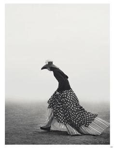 Eigen-Moderne Modepoesie Vogue Germany December 2014. Photographer: Giampaolo Sgura Model: Kati Nescher (DNA) Stylist: Christiane Arp Makeup: Jessica Nedza Hair: Davide Diodovich