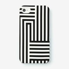 Crushing on black and white striped decor