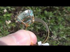 Shigar Aquamarine 11.80ct    22ct Gold Ring