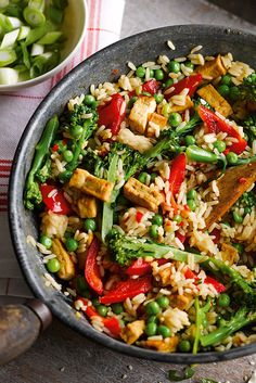 You can be tucking into this virtuous bowlful of veggies, rice and gorgeous Asian flavours, in just 15 minutes. This super easy recipe gives a delicious vegetarian dinner which is ideal for when time is short. | Tesco
