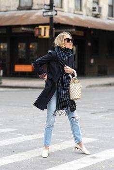 Pinstripe | Brooklyn Blonde | Bloglovin'