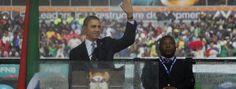El falso intérprete del funeral de Mandela