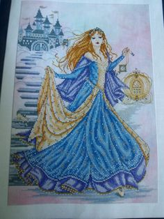 """I HAVE to have this...Issue 90 of Cross Stitch Gold """"Cinderella"""" by Joan Elliott. Why must I live in Canada? I want it NOW!!"""