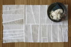 """Pojagi-inspired patchwork from """"Korean pojagi patchwork"""" by Jared Graves, Orime, 29 Oct 2009"""