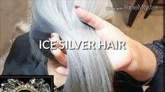 Cabello plata paso a paso / ICE SILVER HAIR / gray hair tutorial