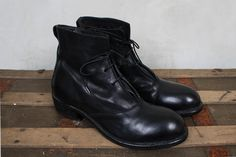 Cusna Nero Military Boot in Black - Moma