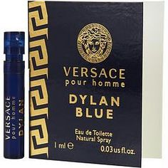 JUST IN: Versace Dylan Blu.... SHOP NOW! http://www.zapova.com/products/versace-dylan-blue-by-gianni-versace-edt-spray-vial?utm_campaign=social_autopilot&utm_source=pin&utm_medium=pin