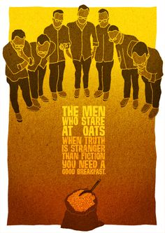 The Men Who Stare At Oats by Austin Richards and Des Creedon