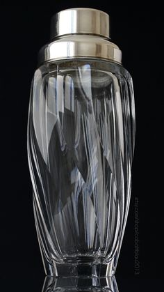 Vintage Crystal & Silver Cocktail Shaker / Available at https://www.etsy.com/listing/236408718/crystal-cocktail-shaker-cut-glass?ref=shop_home_active_3