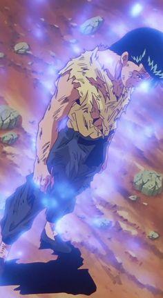 Yu Yu Hakusho Yusuke Urameshi ...aaand I can hear the song that goes with this image