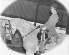 Azraff daughter Rolling K's Princess, Half-Arabian mare x Pom-Pom by Ibn Mirage, owned and shown by Bonnie Geldean, 1976. English Pleasure win at their first show!
