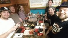 Korean BBQ with friends in LA!