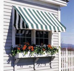Wanting to do black and white awning on shed window!