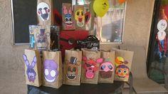 Five Nights at Freddy's goodie bags