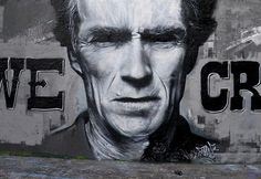 Dirty harry street art #graffiti