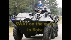 Ada County SWAT Team On the move