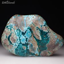 Polished Dioptase Chrysocolla The Democratic Republic of the Congo DRC UK16