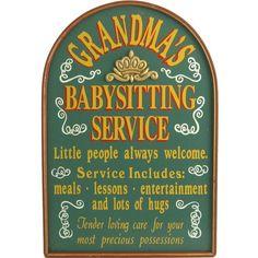 Raise your hand if you run Grandma's Babysitting Service? Call Grandma, Grandma And Grandpa, Quotes About Grandchildren, Grandmothers Love, Grandma Quotes, Babysitting, Family Love, Little People, Grandparents