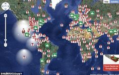 NORAD Santa Tracker helps keep an eye on the big guy on Christmas Eve