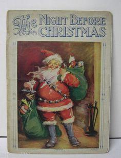 EARLY NIGHT BEFORE CHRISTMAS BOOK - FRANCES BRUNDAGE