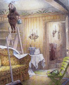 classic children book illustrations | Flutterby Patch: The Wind in the Willows