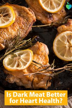 Thighs and drumsticks may have a #cholesterol benefit over white meat.