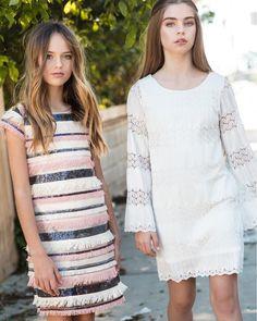 Kristina Pimenova and Jade Weber