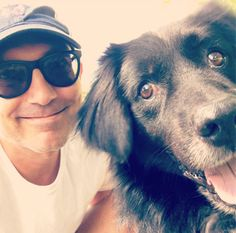 Me and my pal Toby ringing in the weekend at the Elk County Humane Society... +++++ #adopt #rescuedog