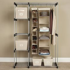 Laundry Room Closet   Even Better If The Lower Hanging Rod Is Removable***  | Laundry Room | Pinterest | Room Closet, Laundry Rooms And Laundry